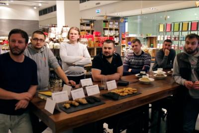 Prezentacja naszych olei w Delikatesach 13 w Warszawie