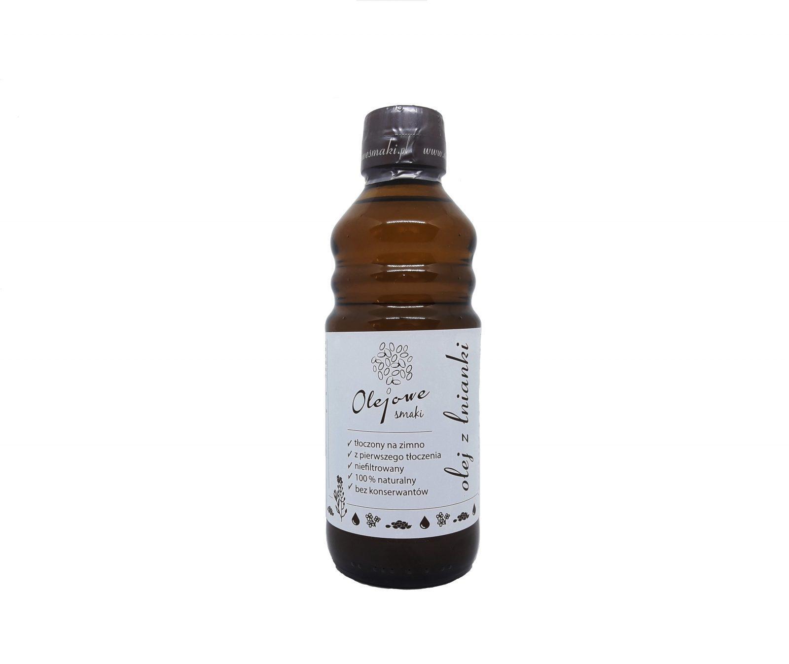 Olej z lnianki (rydzowy)